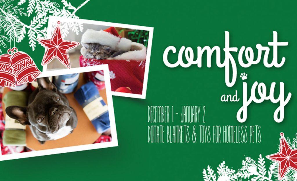 Operation Kindness Blog - Comfort and Joy Donation Drive | North Texas No-Kill Animal Shelter