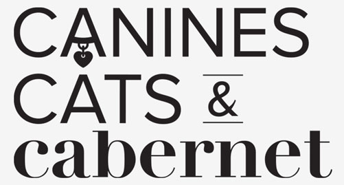 Operation Kindness' fundraising event Canines, Cats and Cabernet Logo | No-Kill Animal Shelter and Animal Adoptions
