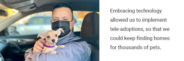 Embracing technology allowed tele-adoptions | Operation Kindness No-kill Shelter