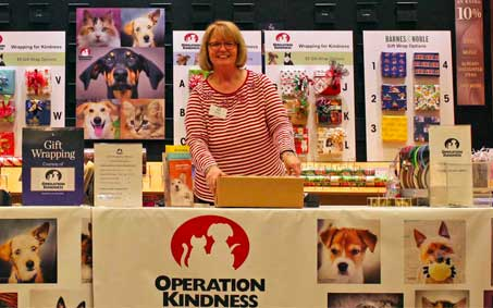 Newsroom | Gift Wrapping and Barnes & Noble | Operation Kindness North Texas No-Kill Animal Shelter