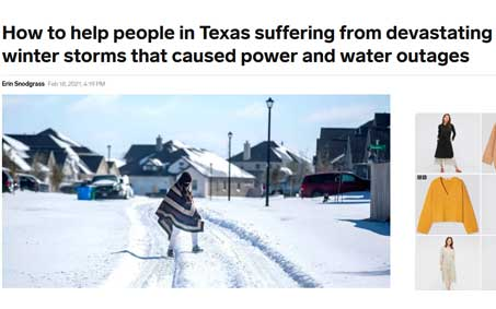 Newsroom | How to help people in Texas suffering from devastating winter storms that caused power and water outages | Operation Kindness North Texas No-Kill Animal Shelter
