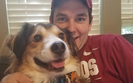 Winston, an Operation Kindness alumni | North Texas' Leading No-Kill Animal Shelter Success Stories